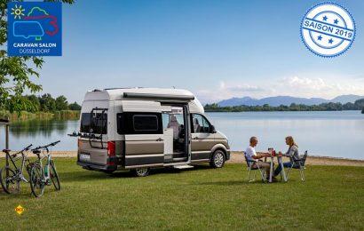 Der neue Grand California von Volkswagen Nutzfahrzeuge ist das perfekte Basislager um die Natur zu genießen. (Foto: VWN)