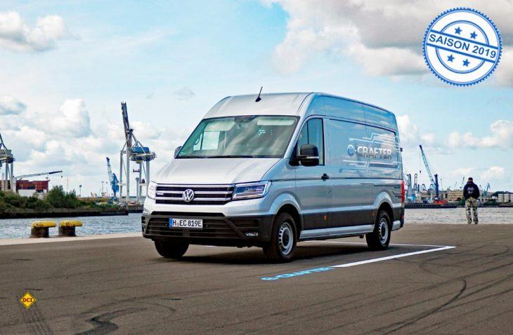 Der e-Crafter geht ans Netz: VW Nutzfahrzeuge präsentiert die Serienversion des Zero-Emission-Transporters. (Foto: det)