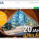 Movera – Camping & Zubehör Ausstatter – Neues Logo, neuer Shop