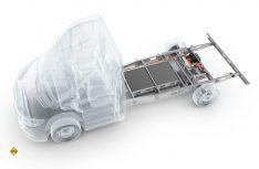 Das Al-Ko Hybrid Power Chassis kann neutral an verschiedene Triebköpfe aller gängigen Basisfahrzeuge angeflanscht werden. (Foto: Al-Ko)