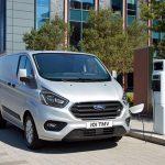 Ford Transit Custom jetzt als Plug-in-Hybrid verfügbar
