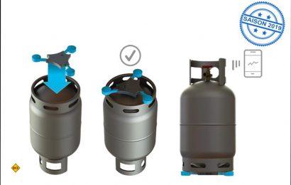 Mit der Gas-Füllstandsanzeige Senso4s bringt GOK eine Anzeige mit App auf den Markt. (Foto: GOK)