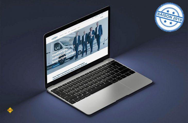 Übersichtlichkeit, einfache Navigation und intuitive Usability – die neue Konzern-Website von Knaus Tabbert legt großen Wert auf persönliche und individuelle Ansprache. (Foto: Knaus Tabbert)