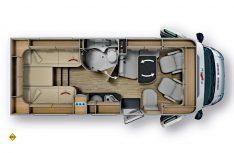 Grundriss Malibu T 430. (Grafik: Werk)