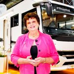 Messesplitter Caravan Salon 2018 – Barbara Schell – Caravan Salon Persönlichkeit 2018