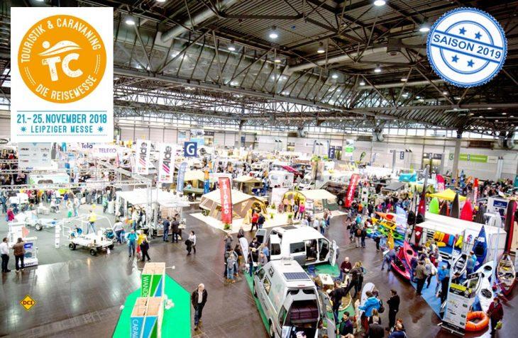 Mit viel Schwung, neuen Ideen und einem tollen Rahmenprogramm geht die Messe Touristik & Caravaning 2018 in Leipzig an den Start. (Foto: Fleet Event)