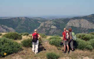 Einsamkeit, Ruhe und faszinierende Ausblicke machen das herbstliche Wandern und Moutainbiken im südfranzösischen Departement Gard zu einem unvergesslichen Erlebnis. (Foto: Dourbies, Dominique Andre - Gard Tourisme)
