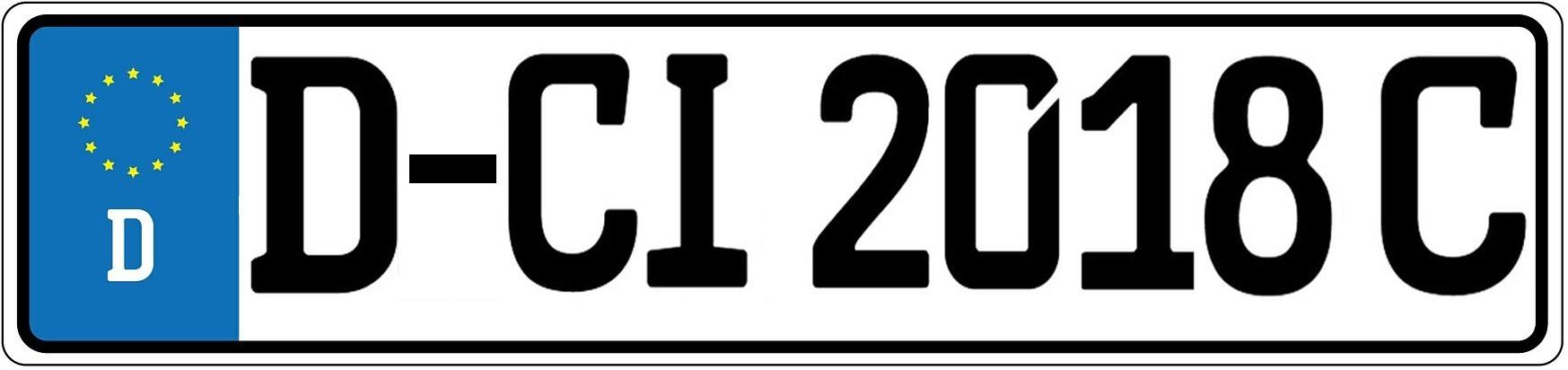 So schaut' s aus. Das C-Kennzeichen kann helfen, den Wertverlust einer ganzen Fahrzeugklasse zu stoppen. (Montage: tom)