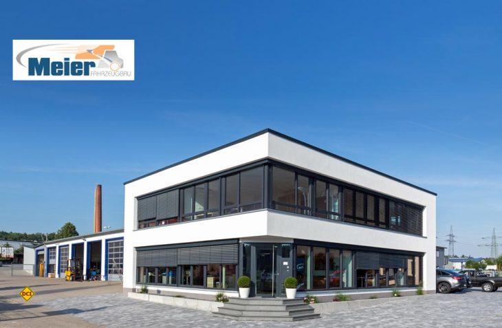 Fahrzeugbau Meier in Altdorf-Ludersheim hat seine Werkserweiterung eingeweiht und bietet jetzt einen Reisemobil-Stellplatz am Werk an. (Foto: Meier)