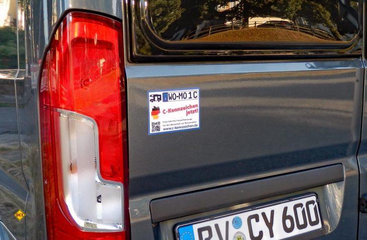 Jetzt reicht´s! Über 6.000 Reisemobilfahrer unterstützen die Initiative C-Kennzeichen. (Foto: det/D.C.I.)