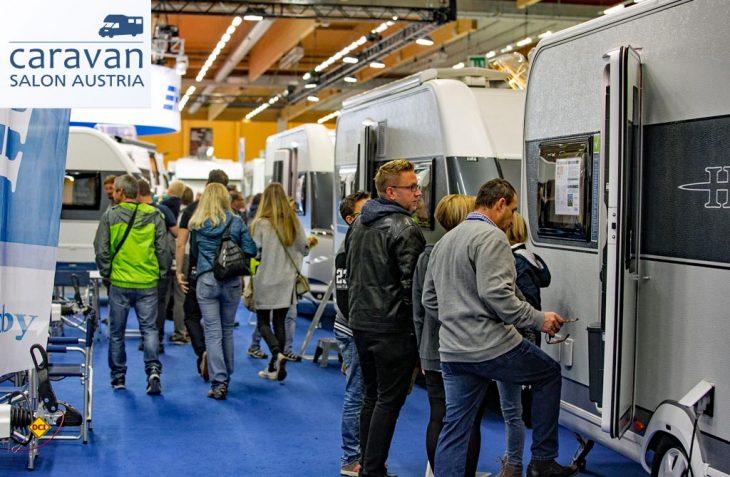 Der Caravan Salon Österreich in Wels ist Österreichs größte Messe für die mobile Freizeit. (Foto: Messe Wels)