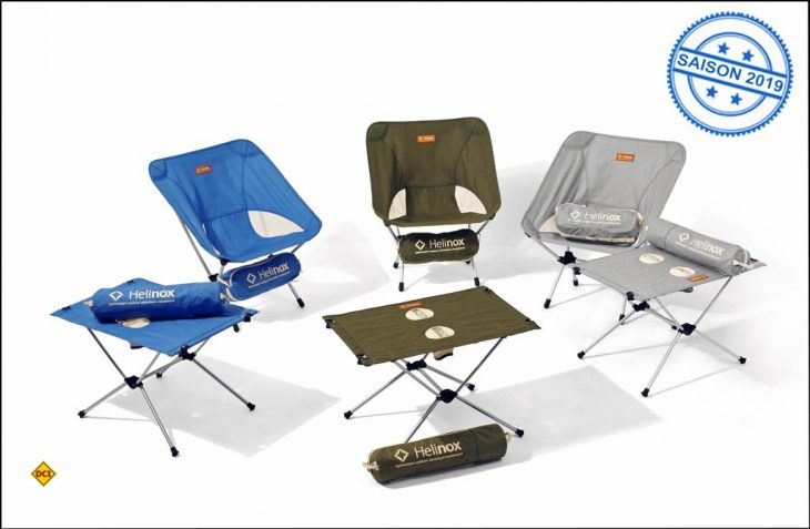 Mit der neuen Vital Collection hat Helinox eine Outdoor-orientierte Lifestyle-Kollektion geschaffen. (Foto: Helinox)