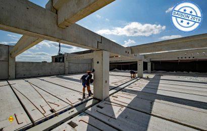 Caravan-Weltmarktführer Hobby erweitert seine Produktion um eine Fertigungs- und Lagerhalle in Fockbek. (Foto: Werk)