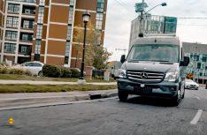 Manchmal darf der Kleine schon raus: Autonome Reisemobile gehören bald zum Straßenbild. (Foto: EHG)