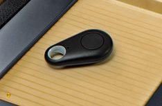 Mit einer Infrarot-Fernbedienung kann der Alarm-Stick gesteuert werden. (Foto: Werk)