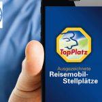 TopPlatz Reisemobil-Stellplätze: Die App für Alle ist jetzt da