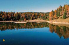 Das Kalksteinmassiv des Nonsbergs südwestlich von Bozen gehört zu den weniger bekannten Regionen Südtirols. (Foto: Peter Mertz, Berg Verlag)