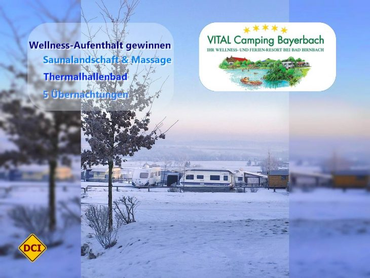 VITAL urlauben: Möglich wird das durch VITAL Camping Bayerbach Ferienresort (Foto: VITAL Camping Bayerbach)