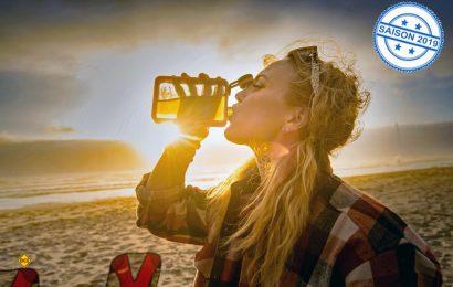Die neue Boulder Flask von GSI Outdoors ist ein Flachmann, der vor allem durch sein geringes Gewicht besticht. (Foto: GSI)