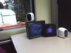Drahtlos lassen sich die Arlo Pro2-Kameras mit dem pfeilschnellen Router Nighthawk M1 verbinden. (Foto: tom/DCI)