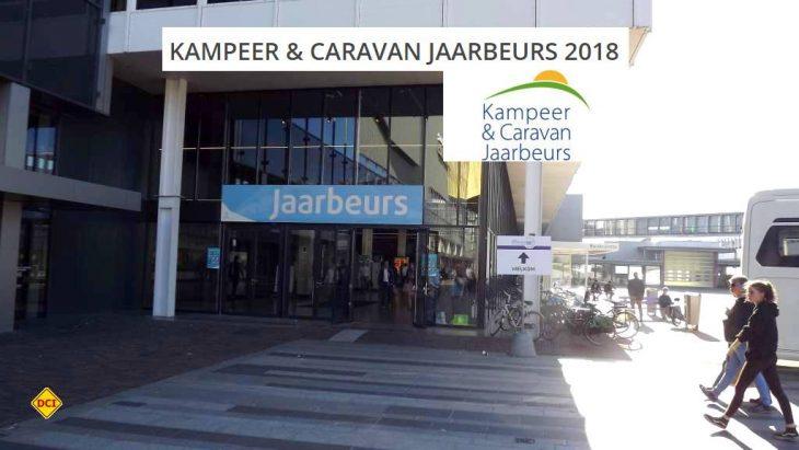 """Die Messe in Utrecht """"Kampeer & Caravan Jaarbeurs"""" lohnt sich für alle Interessenten, um die Neuheiten für die kommende Saison zu sehen. (Foto: tom/DCI)"""