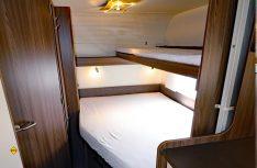 Französisches Bett mit Fünf-Zonen-Kaltschaummatratze. (Foto: sis / D.C.I.)