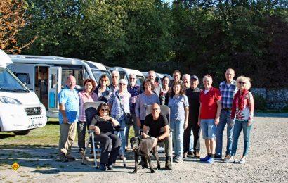 Zehn ausgeloste Paaren konnten beim 2. Einsteiger-Event von Dethleffs Caravaning in Theorie und Praxis im Allgäu kennenlernen. (Foto: Dethleffs)
