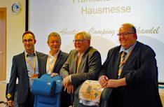 Führungsmannschaft von Frankana von links: Michael Fuchs, Karsten Neumann, Klaus Büttner und Bern Geisendörfer. (Foto: det / D.C.I)