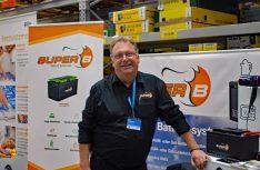 Voller Saft: Frank Geweke vom Akku-Spezialisten Super B Deutschland. (Foto: det / D.C.I.)
