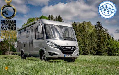Die Hymer GmbH bekam den German Design Award 2019 für das Produktdesign der Hymermobil B-Klasse MC I 580. (Foto: Hymer GmbH)