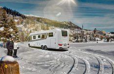 Winter-Camping wird immer mehr zum Trend. Keine Art des Reisens ist spontaner, flexibler, ungebundener und näher an der winterlichen Natur. (Foto: Knaus Tabbert)