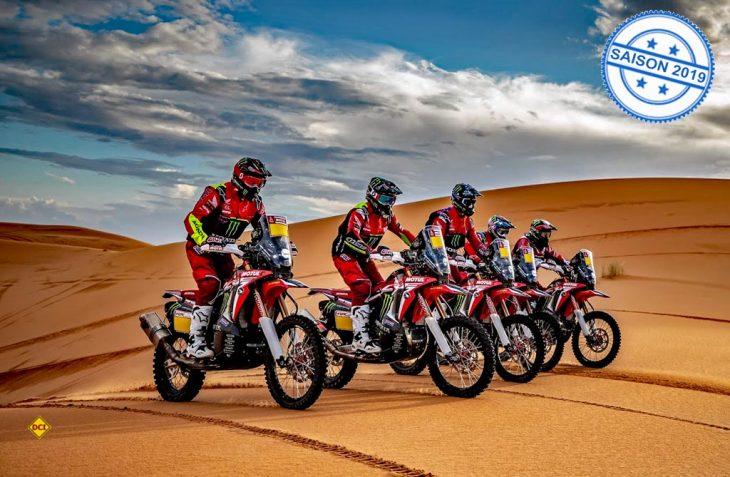 Das Honda Racing Team baut auch für die Dakar 2019 wieder auf die zuverlässigen Begleitfahrzeuge von Laika. (Foto: HRC Honda)