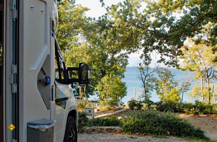 Mit dem Wohnmobil der grauen Jahreszeit entfliehen -Süd-Europa bietet sich mit Wärme und Sonne als Alternative im Winter an. (Foto: det)