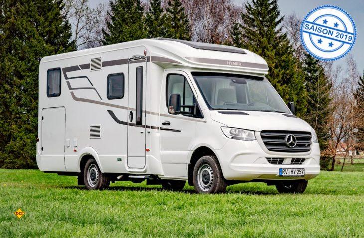 """Anlässlich der Ecomondo, einer internationalen Fachmesse für Material- und Energiegewinnung in Rimini, wurde der neue Mercedes-Benz Sprinter in der Kategorie Vans als """"Sustainable Truck of the Year 2019"""" ausgezeichnet. (Foto: Hymer)"""