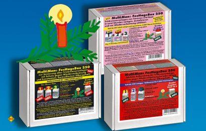 Alle Jahre wieder - Multiman bringt zu Weihnachten eine besonders günstige Reinigungsbox für das Wassersystem von Reisemobil und Caravan. (Foto: Multiman)