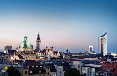 Sehenswert: Blick über die Dächer der sächsischen Metropole. (Foto: Leipzig Tourismus)