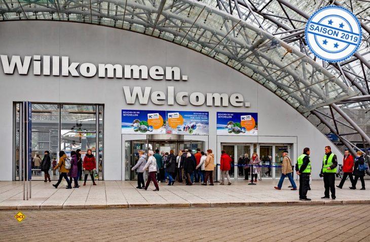 Leipzig sagt willkommen: Die Reisemesse Touristik & Caravaning in Leipzig wird Treffpunkt de Branche im November. (Foto: Messe Stuttgart/Fleet)