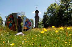 Kunst und Natur im Schwarzwald: Der Friedrichsturm in Freundenberg. (Foto: Tourismus Freudenberg)
