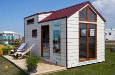 Absoluter Mega-Trend: Kompkates Wohnvergnügen mit einem Tiny-House. (Foto: Wöhltjen)