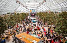 Die Glashalle des Leipziger Messegeländes ist der ideale Ort für eine kulinarische Weltreise. (Foto: Fleet)