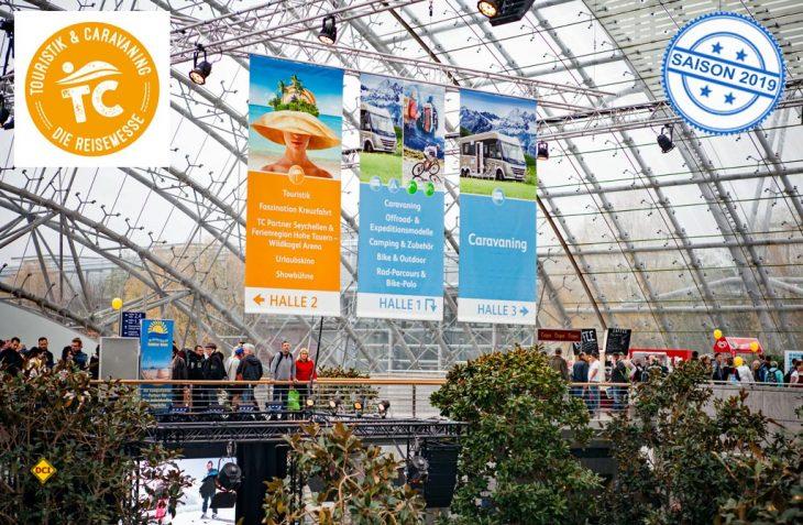 Ein echter Höhepunkt im Messekatalog 2018 wird die Reisemesse Touristik & Caravaning in Leipzig. (Foto: Messe Stuttgart/Fleet)
