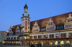 Das Alte Rathaus wurde 1556 als erstes Renaissance-Rathaus in Deutschland errichtet und war bis 1905 Sitz der Stadtverwaltung.(Foto: Leipzig Tourismus)