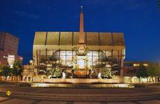 Das Gewandhaus hat seinen Namen vom Saal im ehemaligen Handelsgebäude der Woll- und Tuchmacher, hier der Mendelssohn-Saal. (Foto: Leipzig Tourismus)
