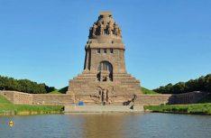 Bei der Völkerschlacht fielen auf beiden Seiten insgesamt 125.000 Soldaten. Das Völkerschlacht-Denkmal steht an der Stelle, wo die Hauptkämpfe stattfanden. (Foto: Leipzig Tourismus)