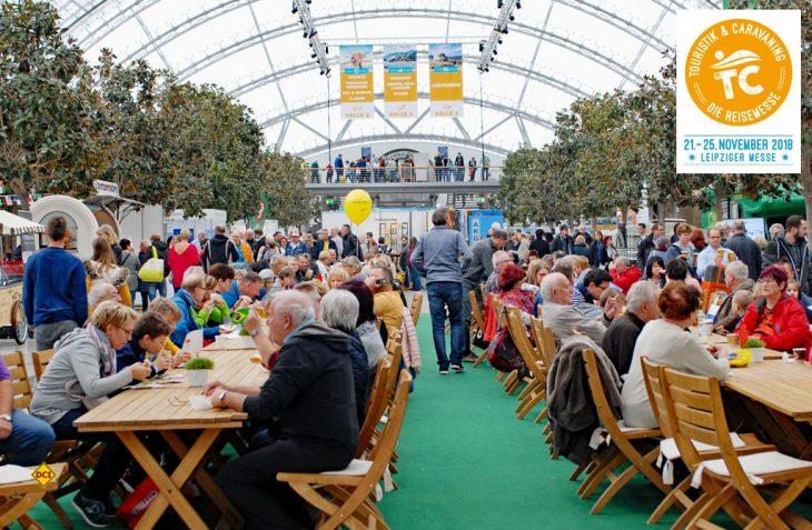 Voller Erfolg: Die Reisemesse Touristik & Caravaning 2018 in Leipzig endete mit neuem Konzept unter der Leitung der Messe Stuttgart äußerst erfolgreich. (Foto: det / D.C.I.)
