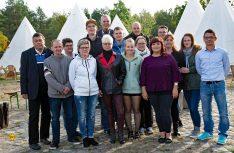 Das aktuelle Team besteht aus 16 Mitgliedern, die sich um das Wohl der Camper und um den Platz kümmern. (Foto: Tropical Island)