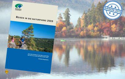 Raus aus dem Alltag, rein in die Natur – die neue Reisebroschüre 2019 des Verbandes Deutscher Naturparke beschreibt das Naturerlebnis Naturparke in Deutschland, Österreich, der Schweiz und Luxemburg. (Foto: VDN Bonn)