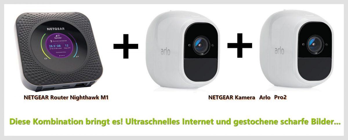 Die technischen Daten des Routers und der Kameras von Netgear überzeugen. (Foto: Werk)