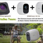 Netgear Router Nighthawk M1 und Arlo Pro2 Kameras als Set – ein echtes Power-Team