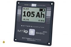 Der MT IQ Batteriecomputer BASIC Pro von Büttner Elektronik zur Kontrolle des Energiehaushaltes. (Foto: Werk)